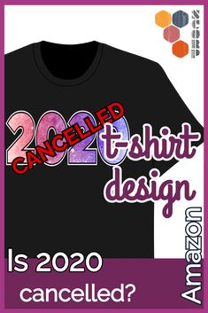 Has the year 2020 been canceled? Like a cancelled Stempel. By from Amazon. T-Shirt #Amazon #2020 #Chaos #Corona #Virus #Covid-19 #Crash T Shirt Designs, Amazon, Sweatshirts, Sweaters, Fashion, Corona, Tee Shirt Designs, Moda, Riding Habit
