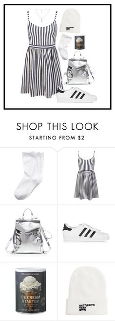 """""""Daily Look #59"""" by franznova ❤ liked on Polyvore featuring Miss Selfridge, Loeffler Randall, adidas Originals, Williams-Sonoma and October's Very Own"""