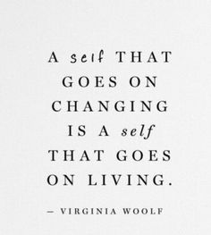 Apparently, Ms. Woolf no longer wanted to change...