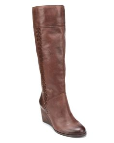 Lucky Brand Tall Wedge Boots - Sanna - Boots - Shoes - Shoes - Bloomingdale's