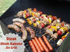 steak kabob recipes | Here is a Really Easy Recipe for Grilled Steak Shish Kabobs!!