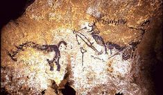 Today, September is the anniversary of the discovery of the famous cave paintings at Lascaux, France. These year old cave pa. Ancient Egyptian Jewelry, Ancient Egypt Art, Egyptian Art, Constellations, Lascaux Cave Paintings, Art Pariétal, Crow Painting, Crow Art, Outdoor Sculpture