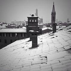 Bologna's roofs - Instagram by robbieoliva