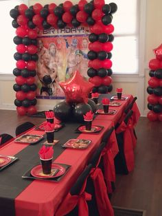 The stunning Www Theme Party Decorateddecoryolanda In 2020 Regarding Boxing Party Decorations picture below, is section of Boxing Party … Wrestling Birthday Parties, Wrestling Party, Wwe Birthday, Superman Birthday Party, Ninja Birthday Parties, Backyard Birthday, Wwe Party, Birthday Party Invitations, Birthday Party Decorations