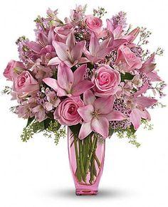 Pink bouquet: