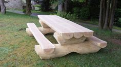 Giant picnic table seats up to 8