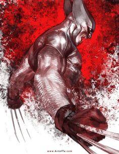 Google+Rare Comic Books originally shared: Wolverine by Tu Bui