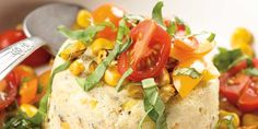 Sweet-Corn-and-Parmesan-Flan  - Our State Magazine  Recipes tested, propped and styled by Wendy Perry