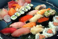 Moveable Feast: Seattles Premier Kaiten Sushi Restaurant - Foodista.com #sushi #Seattle