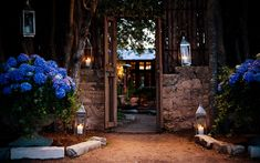 Swap for bougamvillias? Or as a different flower in complement to the archway? Caplan Miller Events | Event Planners in Austin, Texas