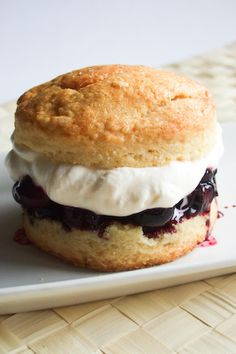 Blueberry Lemon Shortcake by raspberri cupcakes, via Flickr