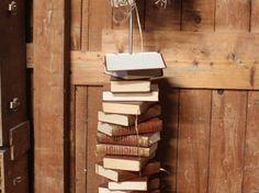 Le lampadaire livre - Par Jucondine sur le #cdb