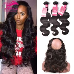 360 Lace Frontal With Bundle,Peruvian Body Wave 360 Frontal With Bundles Top Peruvian Virgin Hair With Closure 7A Human Hair