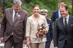 Crown Princess Victoria at Tuesday's annual meeting at Skansen Nordic Museum.