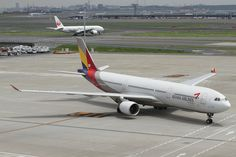 Asiana Airlines A330-300 #asiana #A330 #travel
