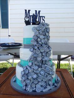 Mechanics Wedding Cake