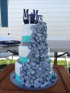 Mechanics Wedding Cake