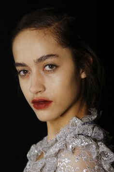 Erdem Fall 2016 Ready-to-Wear Fashion Show Beauty