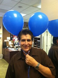 Here's one of our greeters giving you a reason to SMILE!