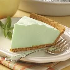 Cool refreshing pie   Cool Whip, Lime Yogurt, Lime Jello  mmmm soo good