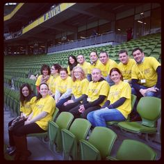 The launch of Daffodil Day 2013, kindly supported by Dell, took place at the Aviva Stadium on Friday, Feb 8th - and all these Dell volunteers joined us on the day. There are loads more pictures on our Instagram page - www.instagram.com/irishcancersociety. Daffodil Day, Volunteers, More Pictures, Daffodils, Irish, Cancer, Product Launch, Friday, Instagram Posts
