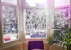 Blossom net curtain  By Moko Sellars