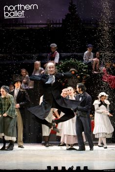 Other Christmas Carols: Darren Goldsmith as Scrooge in Northern Ballet's A Christmas Carol. Photo Bill Cooper.