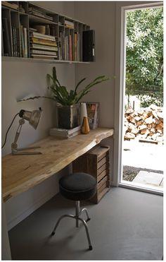 nice wall mounted desk