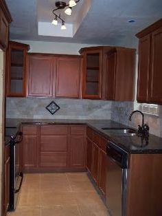 Small u-shaped kitchen layout remodel