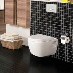 The Aviso Wall Hung Toilet inc Seat has a small and compact design, making it the perfect choice for any bathroom, regardless of the size. The wall hung design and gloss finish means this toilet is incredibly easy to clean around and underneath, making yo
