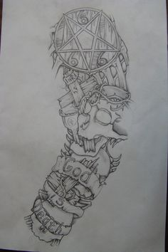 sleeve drawing done 3 yrs ago by chrismorillo on DeviantArt