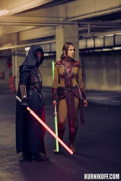 Revan and Bastila