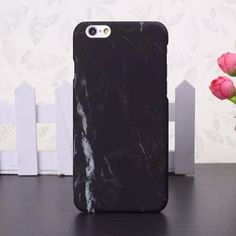 Marbled effect iPhone Case Lightweight slim case, provides protection with no added bulk Access to all ports, camera, speakers and buttons via custom cutouts Case easily snaps onto the back of your ph