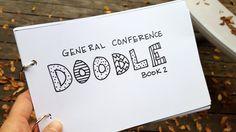 Free General Conference Doodle Book 2015 | We Talk of Christ, We Rejoice In Christ