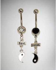 Visit Spencer's for the best selection of affordable Belly Button Rings! Show off with our Belly Piercing Jewelry to suit any personality! Belly Button Piercing Rings, Cute Belly Rings, Bellybutton Piercings, Belly Button Jewelry, Dangle Belly Rings, Ear Piercings, Nose Rings, Best Friend Jewelry, Belly Bars