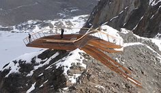 """Top of Tirol is basically a breathtaking """"viewing platform located 3,000m above sea level at the Stubai Glacier in Tirol, Austria."""""""