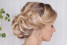 Rose gold, silver or gold Swarovski crystal wedding hairpins - India