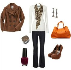 I would switch the heels for boots, but none the less a great winter outfit :)