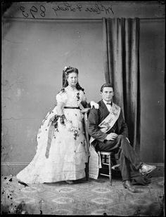 Mr. and Mrs. Carr c. 1870-75  State Library of New South Wales