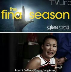 This is actually one of the most sad moments on glee Glee Memes, Glee Quotes, Scandal Quotes, Tv Quotes, Best Tv Shows, Best Shows Ever, Glee Club, Series Movies, Tv Series