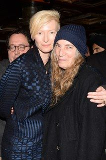 Tilda Swinton and Patti Smith(rocker chic)