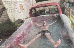 Pick Up Truck Swimming Pool