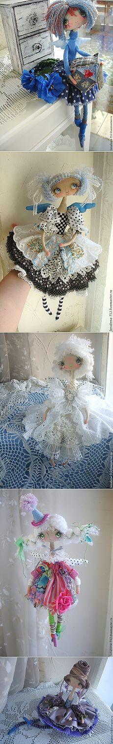 Текстильные куклы Мастера ЛёнАлёна ручной работы