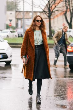 street style... that coat!