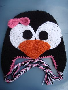 Baby Penguin Beanie