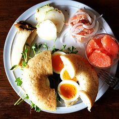 Today's breakfast. - @keiyamazaki- #webstagram Breakfast Cake, Breakfast Recipes, Dinner Recipes, Cooking Recipes, Healthy Recipes, Paninis, Morning Food, Light Recipes, Food Presentation