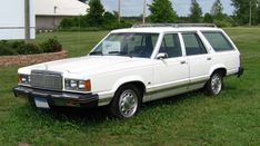 1982 - Mercury Cougar GS wagon. The wheels on the car are not original to it, they are from either a 5.0 Mustang or a Thunderbird Turbo Coupe of the mid-1980s