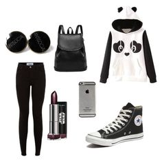 """Untitled #2"" by alva-ale on Polyvore featuring Garcia and Converse"