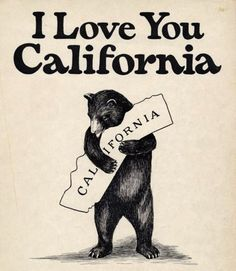 Bear + California = ♥