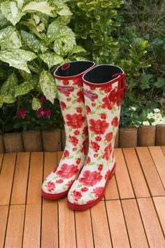 Laura Ashley Elegance Wellington Waterproof Boot